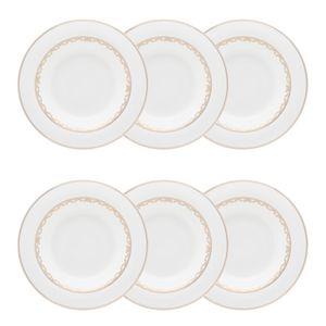 Conjunto de 06 pratos fundos 24,5 cm Strauss Lumière