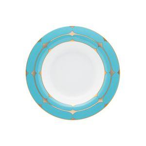 Conjunto de 06 pratos fundos 24,5 cm Strauss Folies