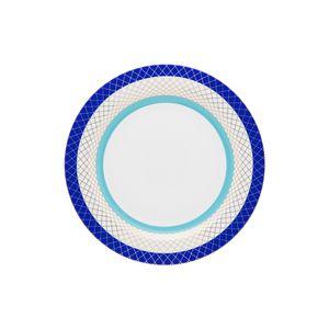 Conjunto de 06 pratos sobremesa 23 cm Strauss Folies